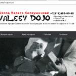 Сайт про каратэ в городе Гай!