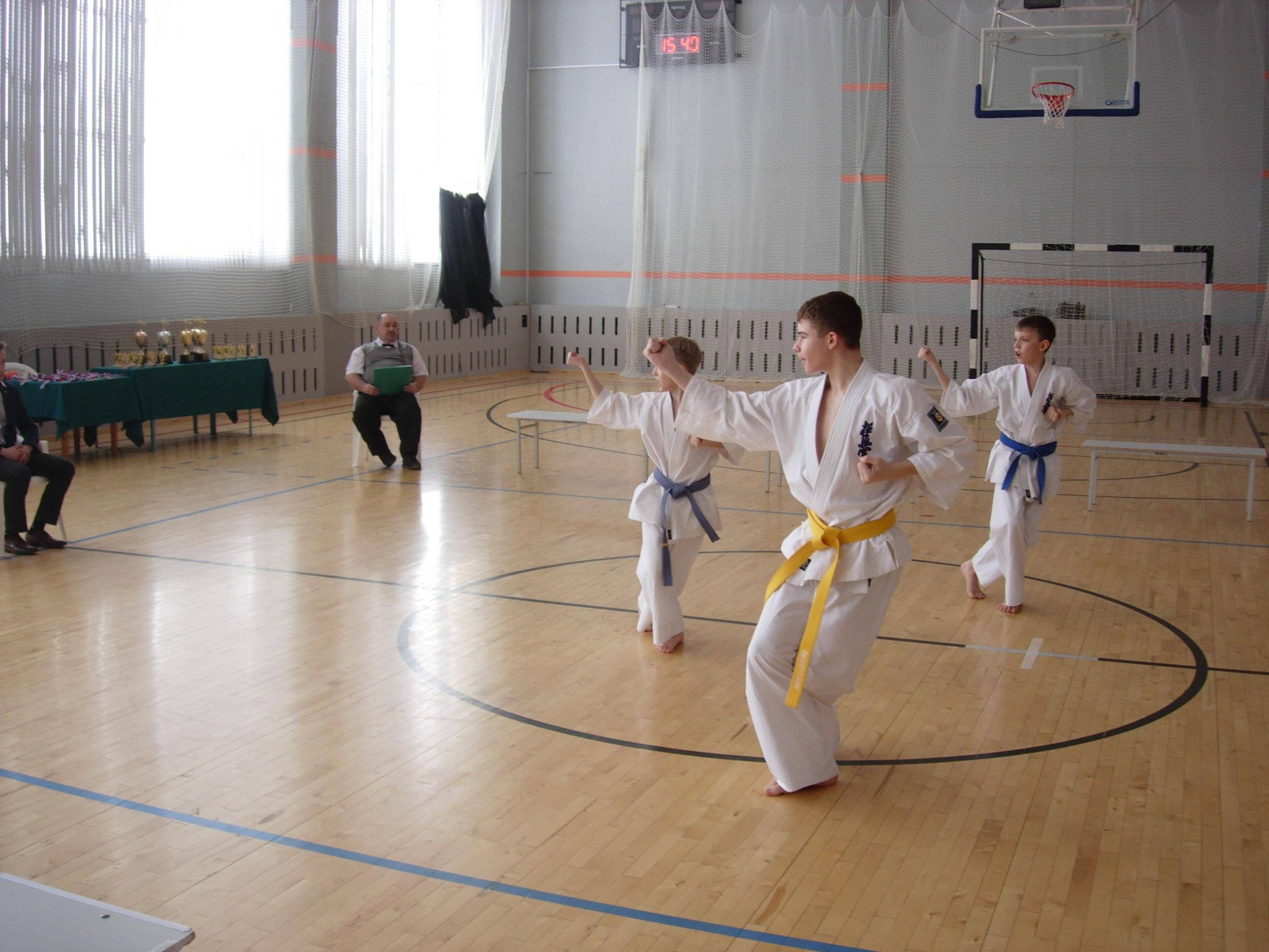 Соревнования ката