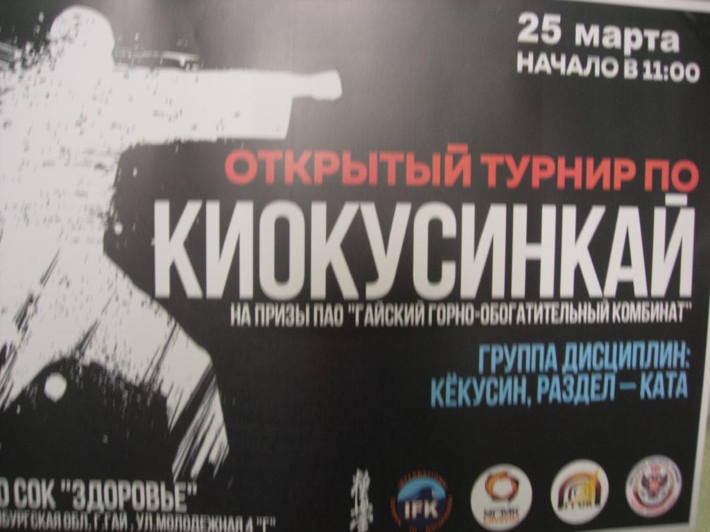 открытый турнир по киокусинкай