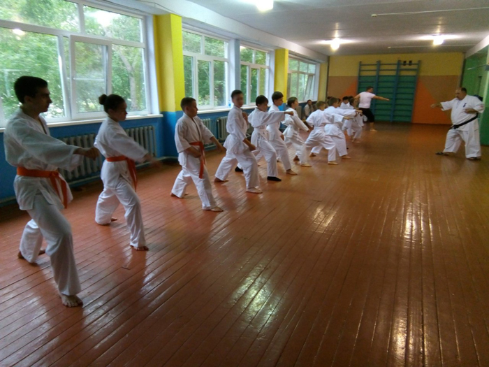 Гайская школа каратэ Валеев Додзё